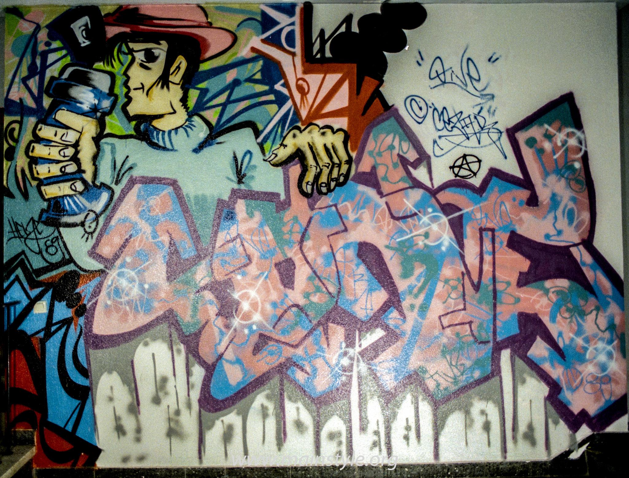 Graffiti_Frankfurt_JUZ Gallus 1989 (3 von 3)