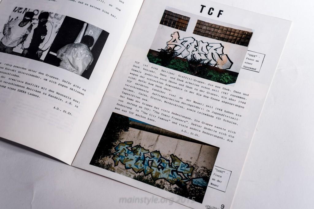 Enterprise Ausgabe 1, Hip Hop Magazin, Graffiti, Gangs, 1990