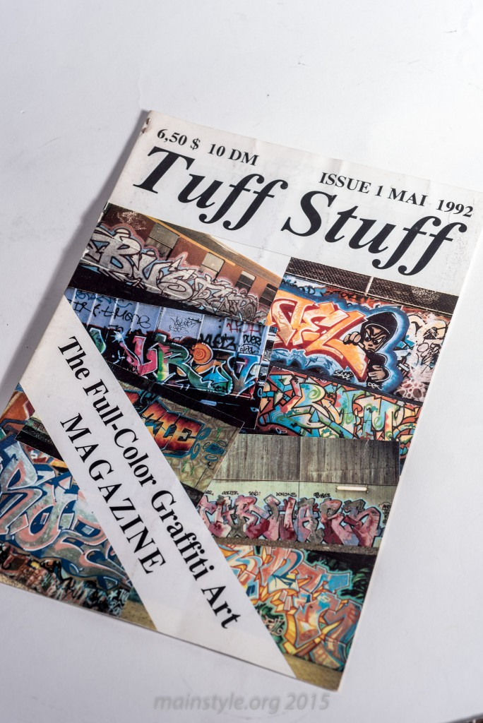 Tuff Stuff, first Edition, 1992, komplett in Farbe !! Aschaffenburg