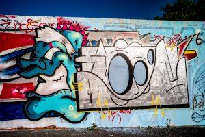 RUMO Frankfurt Graffiti